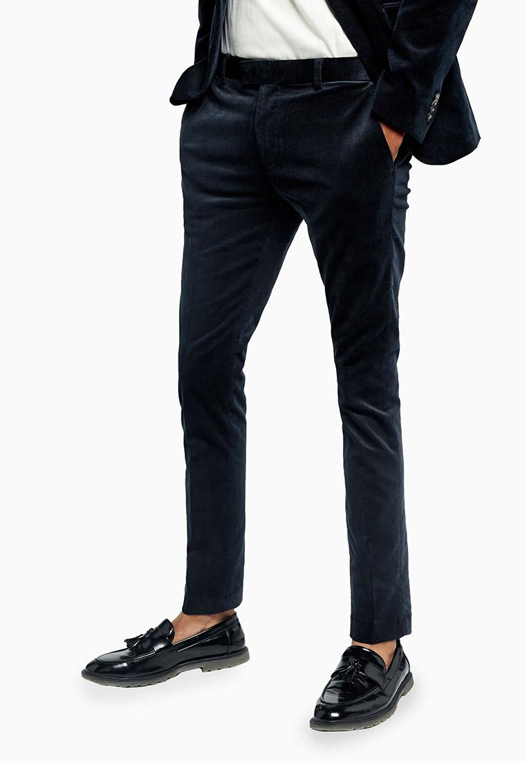Мужские зауженные брюки Topman (Топмэн) 87T47TBLE