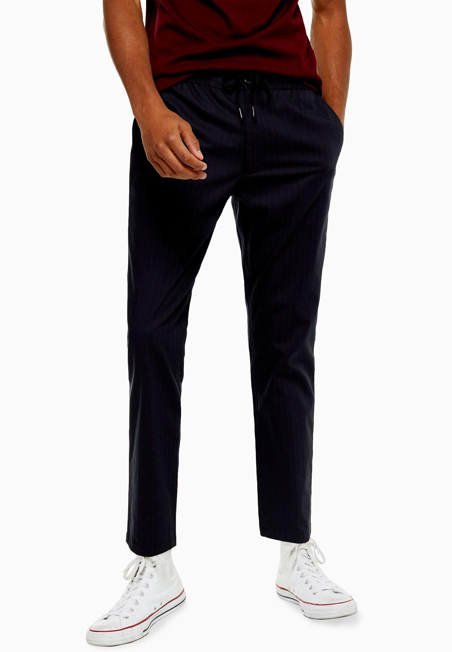 Мужские зауженные брюки Topman (Топмэн) 68F16TNAV