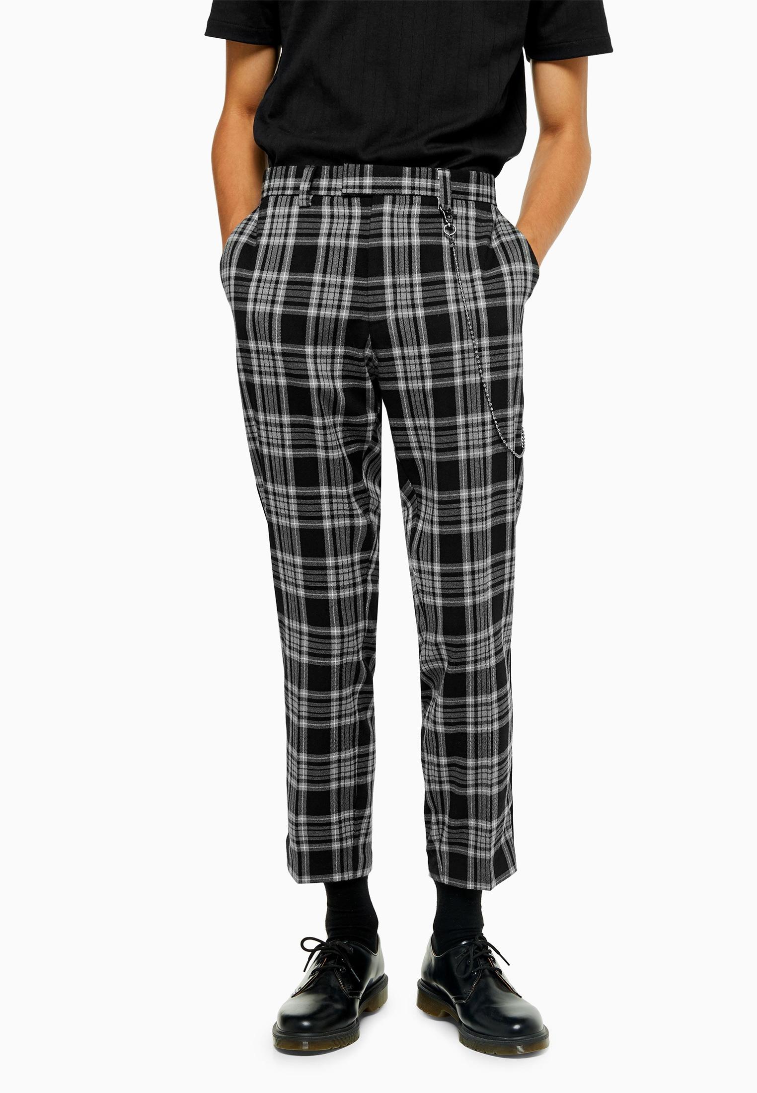 Мужские повседневные брюки Topman (Топмэн) 88D22TGRY