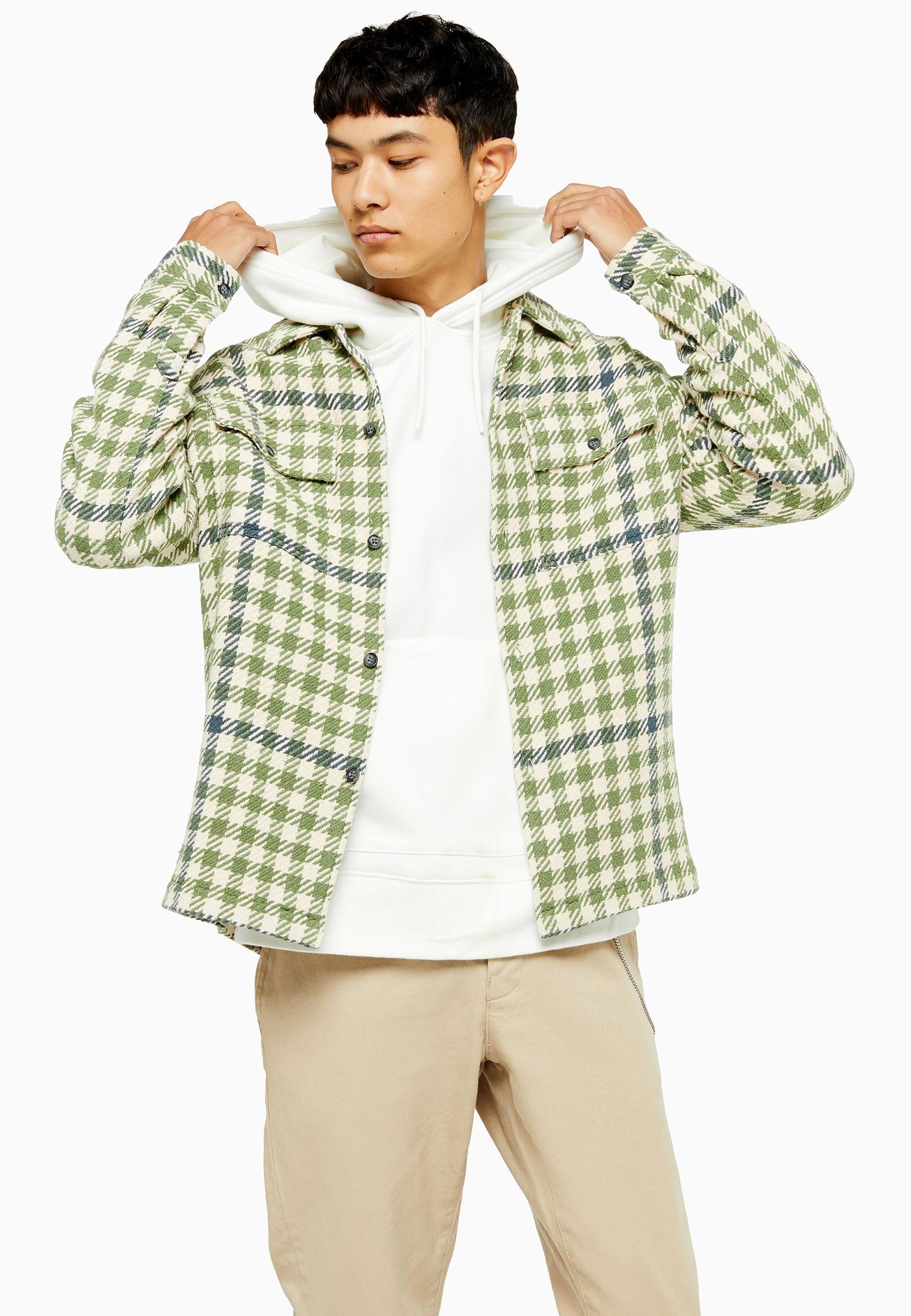 Рубашка с длинным рукавом Topman (Топмэн) 83S13OGRN