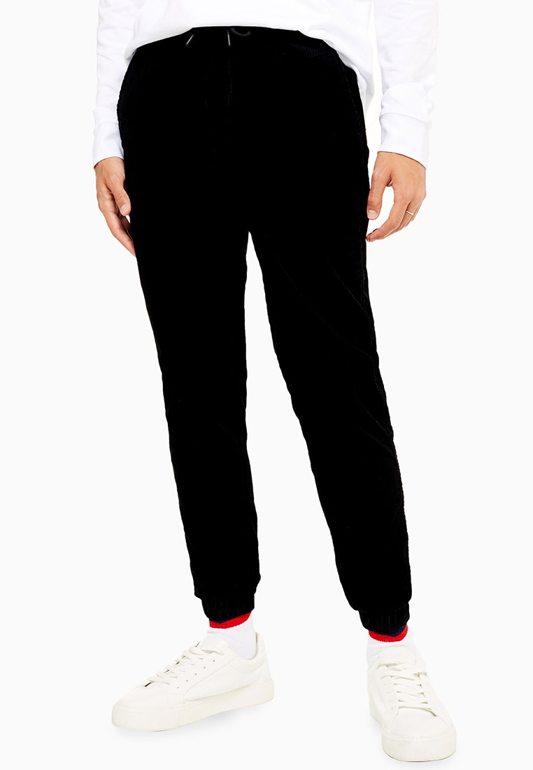 Мужские спортивные брюки Topman (Топмэн) 68F34TBLK