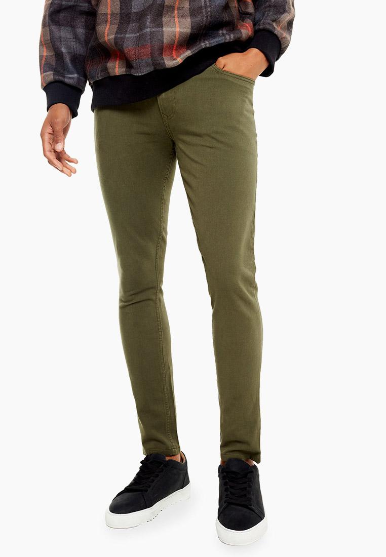 Мужские повседневные брюки Topman (Топмэн) 68D04TKHA