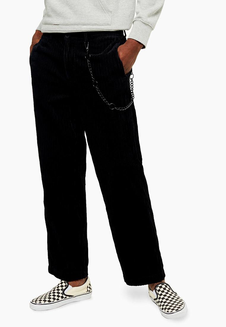Мужские повседневные брюки Topman (Топмэн) 68N31TBLK