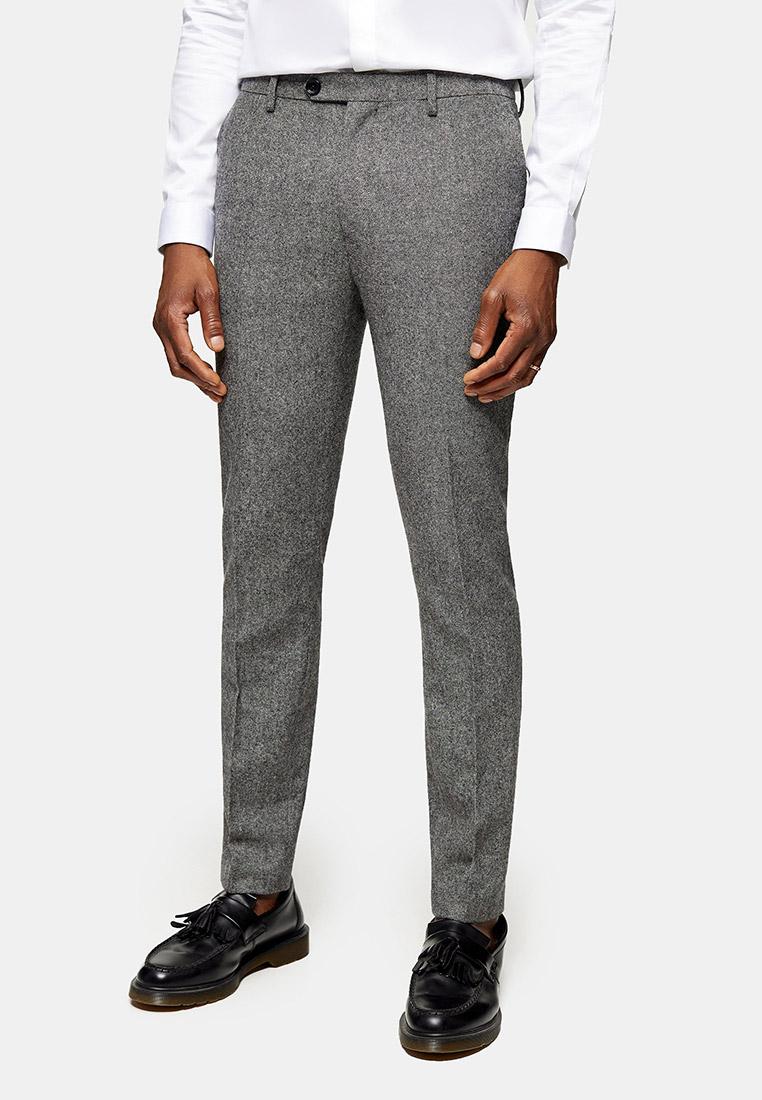 Мужские классические брюки Topman (Топмэн) 87T73SGRY