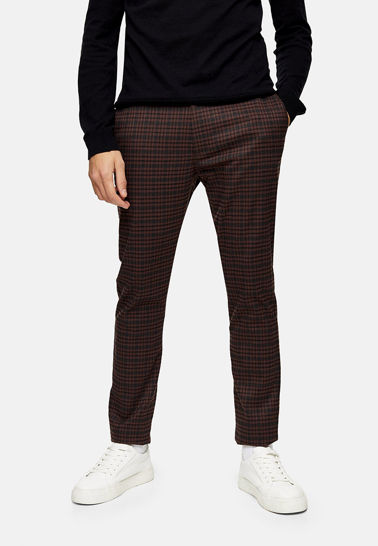 Мужские повседневные брюки Topman (Топмэн) 68F09TBRN