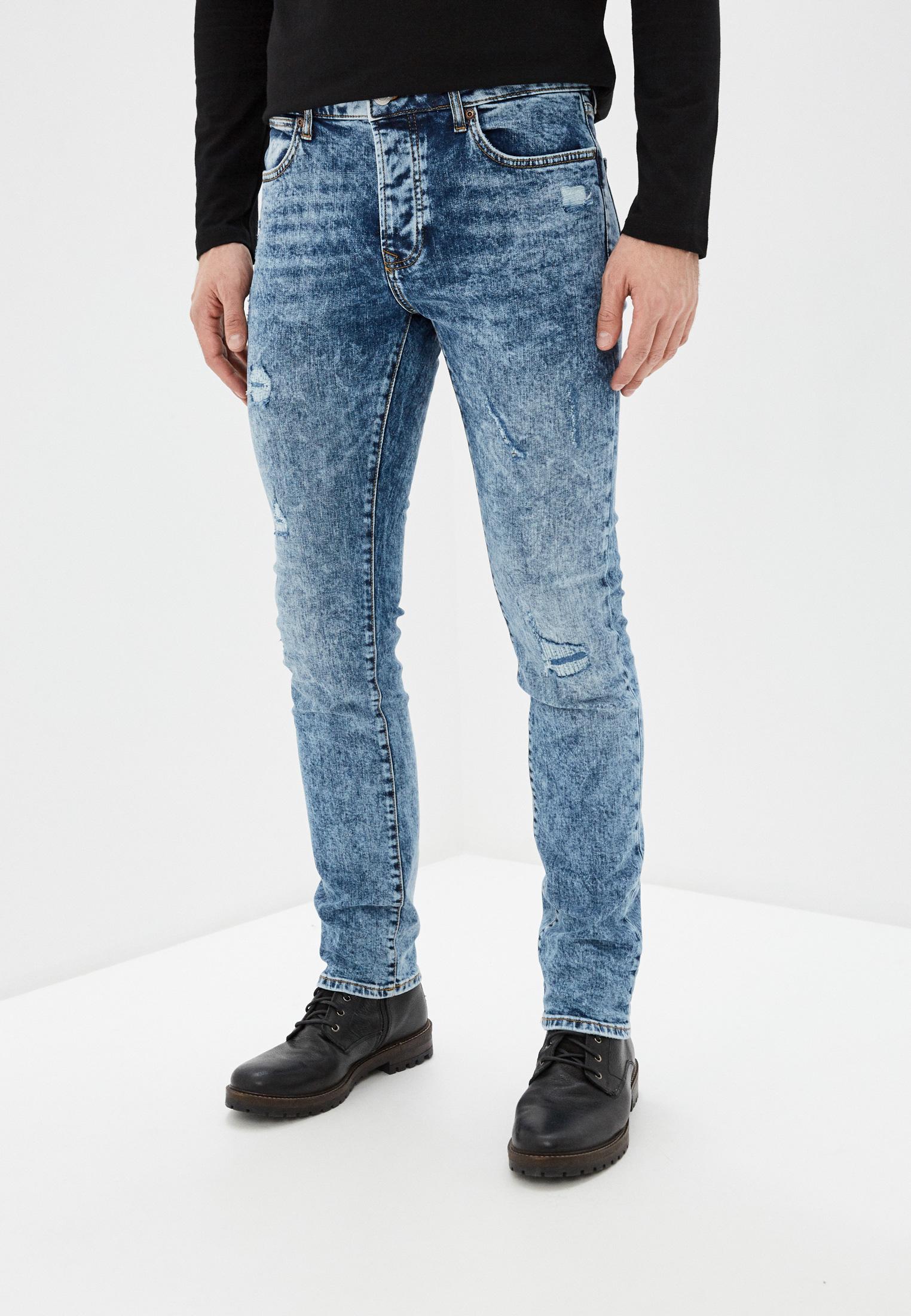 Зауженные джинсы Topman (Топмэн) 69C26TMST