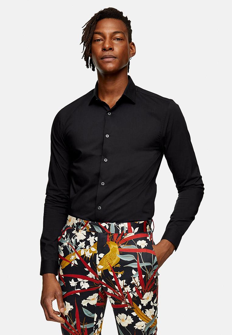 Рубашка с длинным рукавом Topman (Топмэн) 84L02TBLK