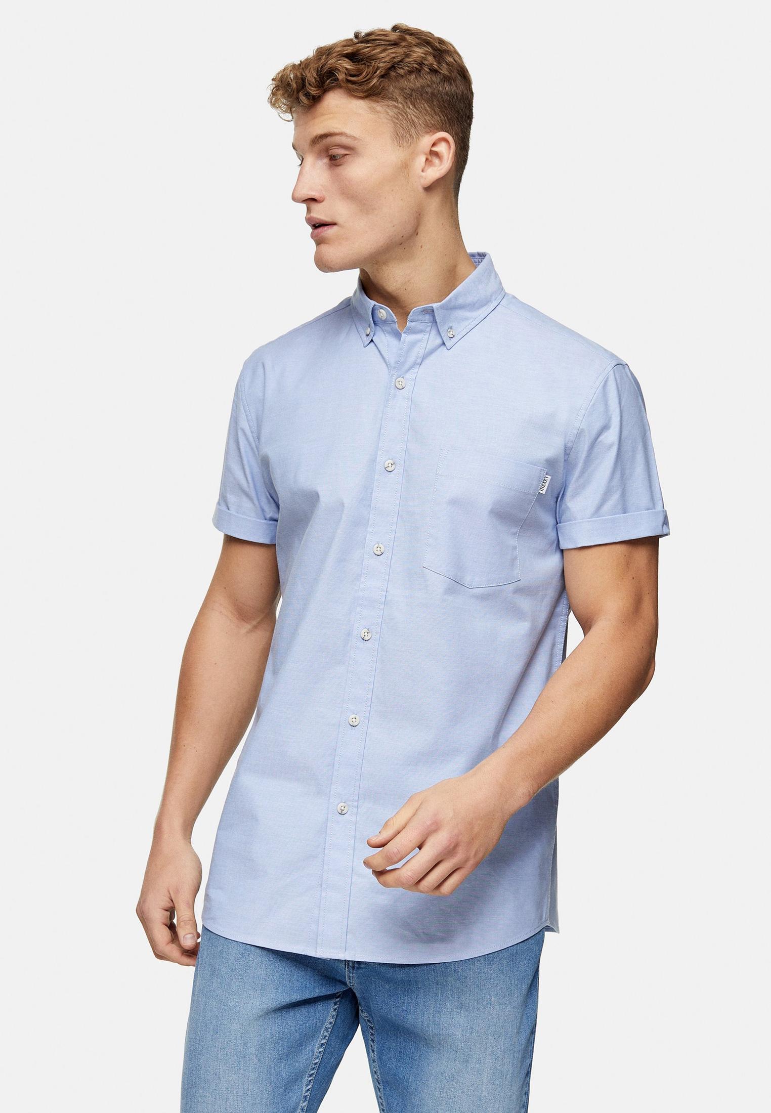 Рубашка с длинным рукавом Topman (Топмэн) 83Y02UBLE