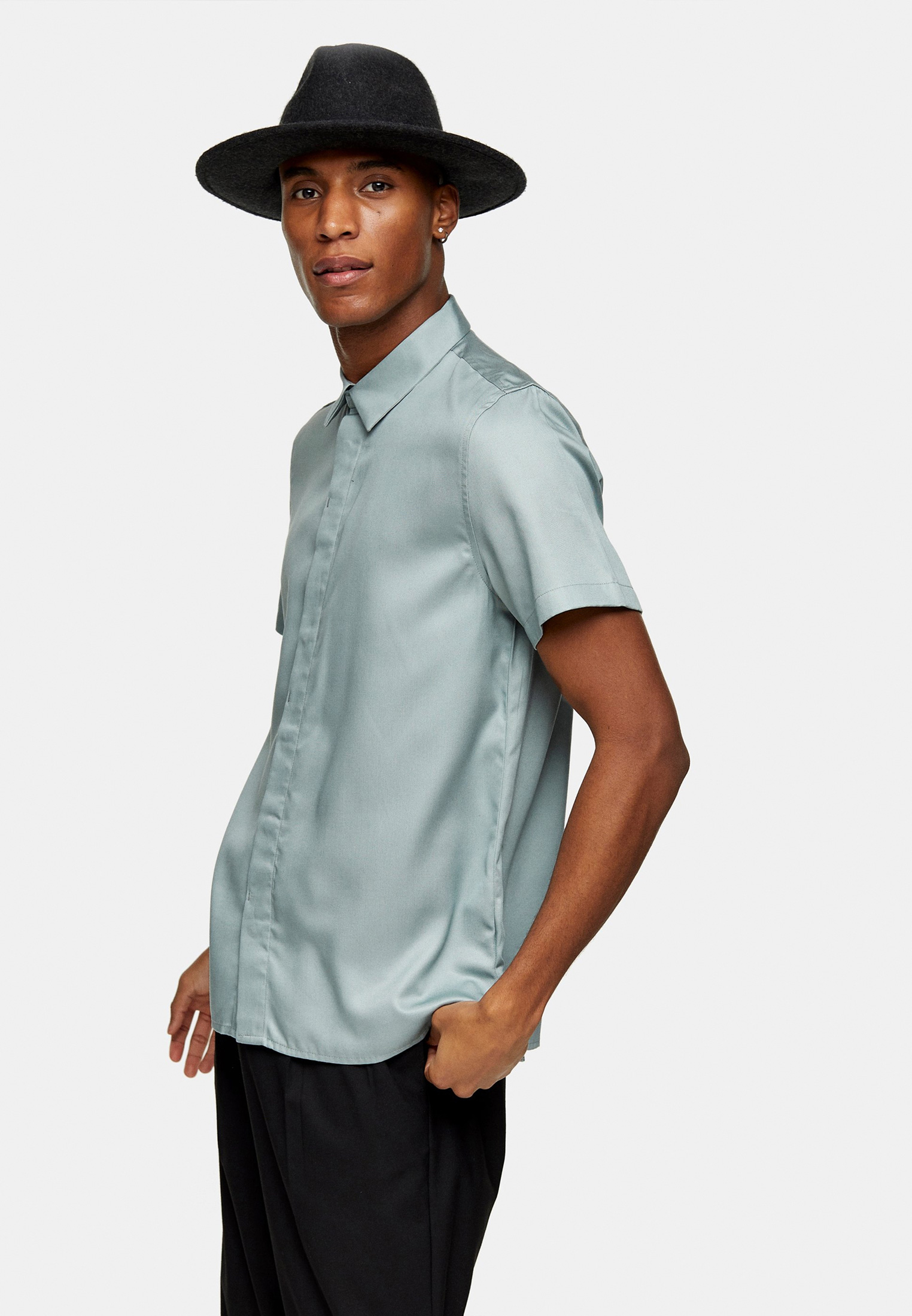 Рубашка с длинным рукавом Topman (Топмэн) 84P27RKHA