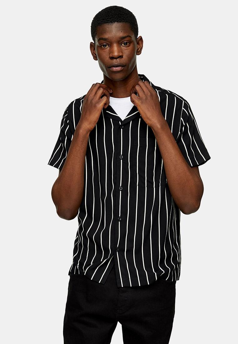 Рубашка с длинным рукавом Topman (Топмэн) 83M02UBLK