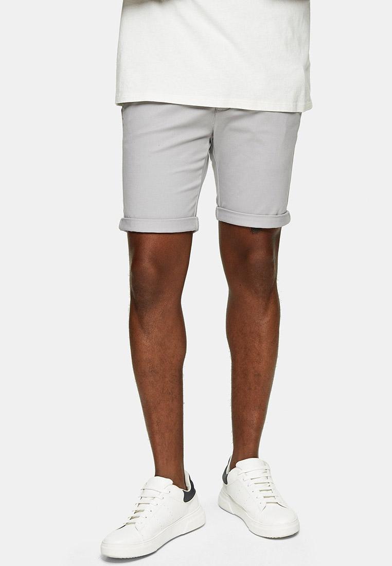 Мужские повседневные шорты Topman (Топмэн) 33S04SGRY