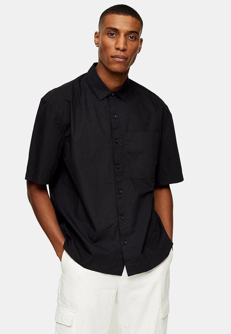 Рубашка с длинным рукавом Topman (Топмэн) 83P04UBLK