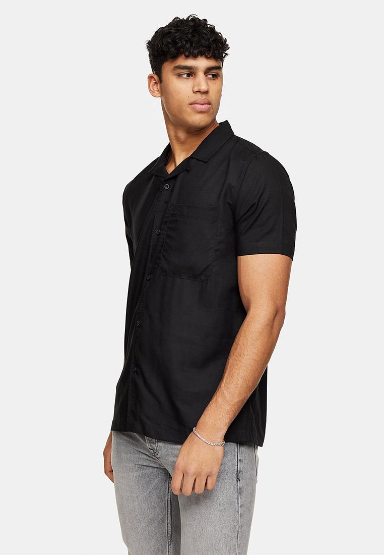 Рубашка с коротким рукавом Topman (Топмэн) 83P05UBLK