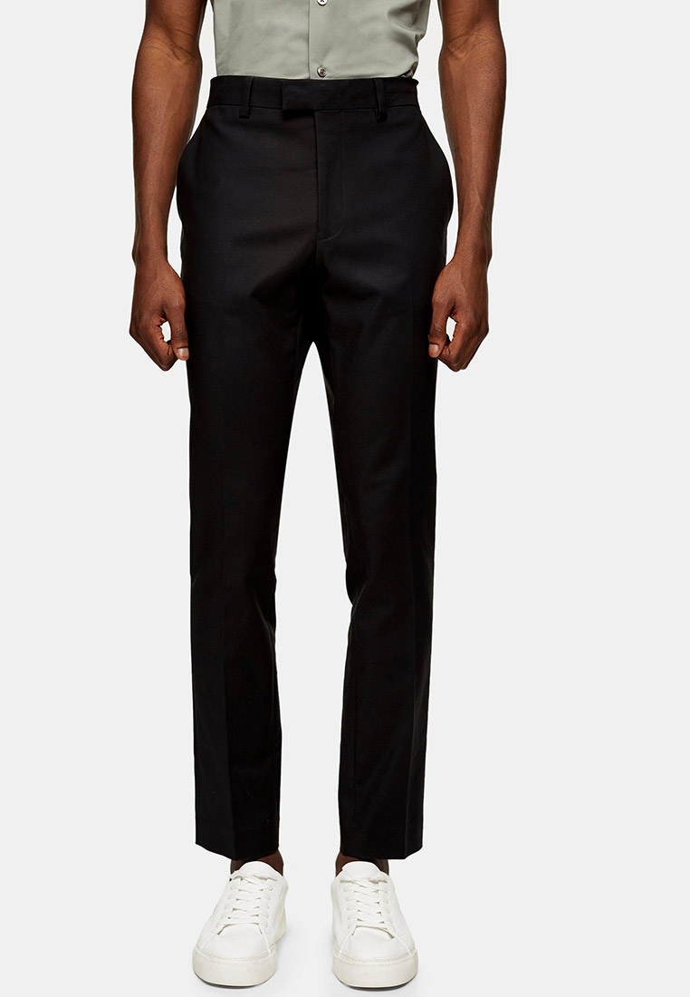 Мужские классические брюки Topman (Топмэн) 68N54TBLK