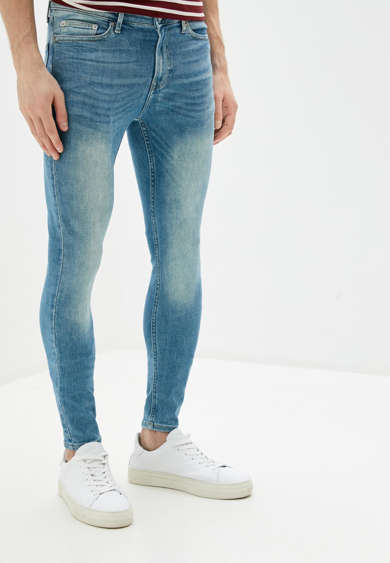 Зауженные джинсы Topman (Топмэн) 69D13TLST