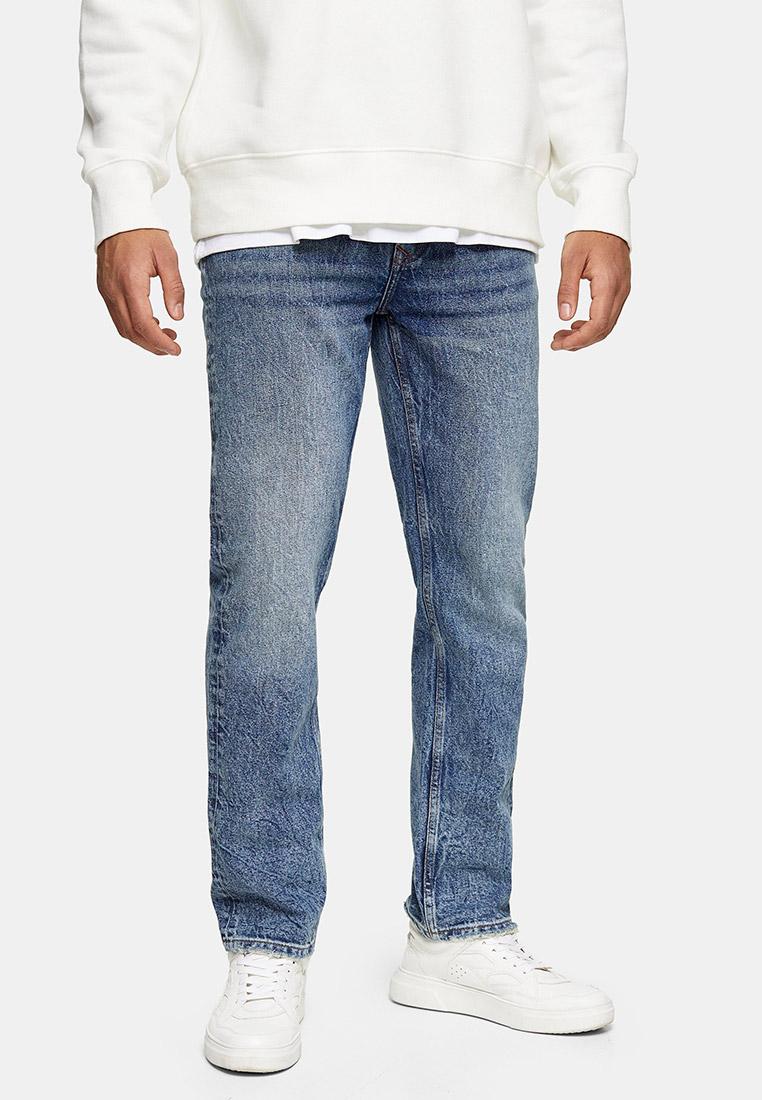 Мужские прямые джинсы Topman (Топмэн) 69H14TMST