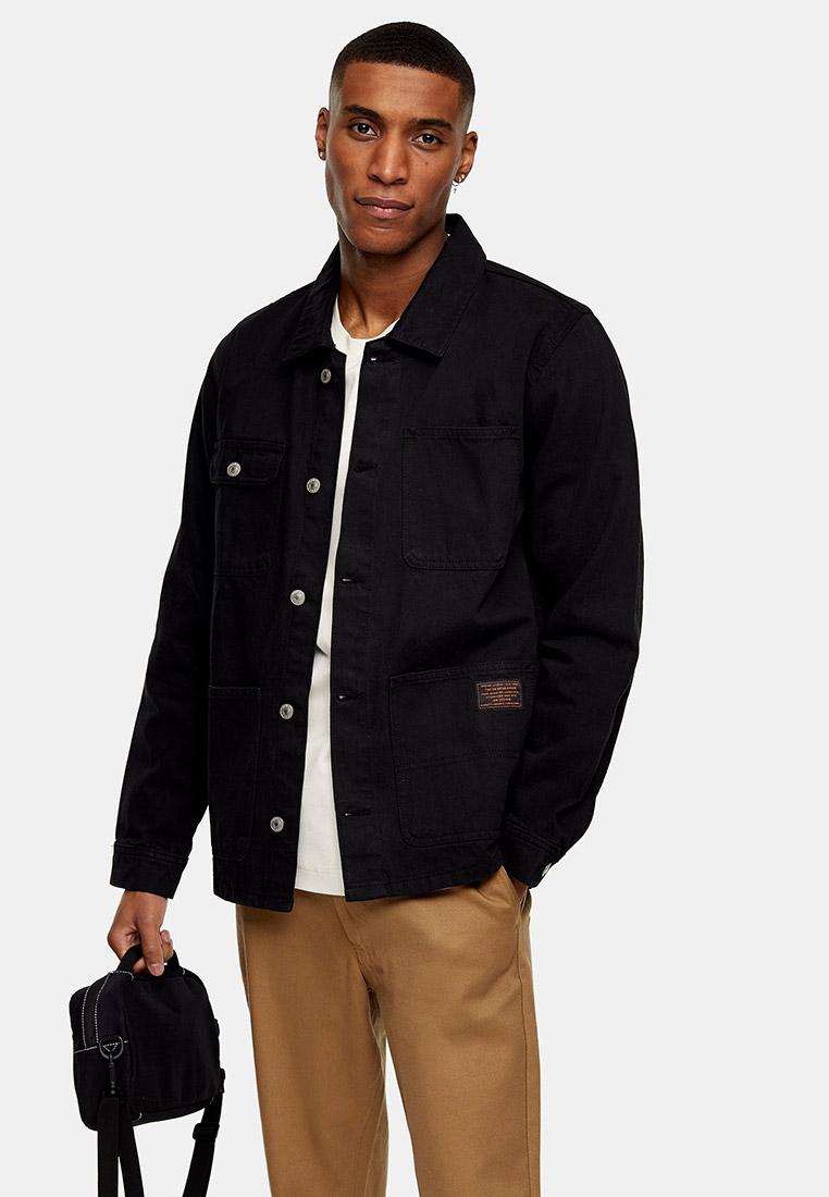 Джинсовая куртка Topman (Топмэн) 64P04UBLK