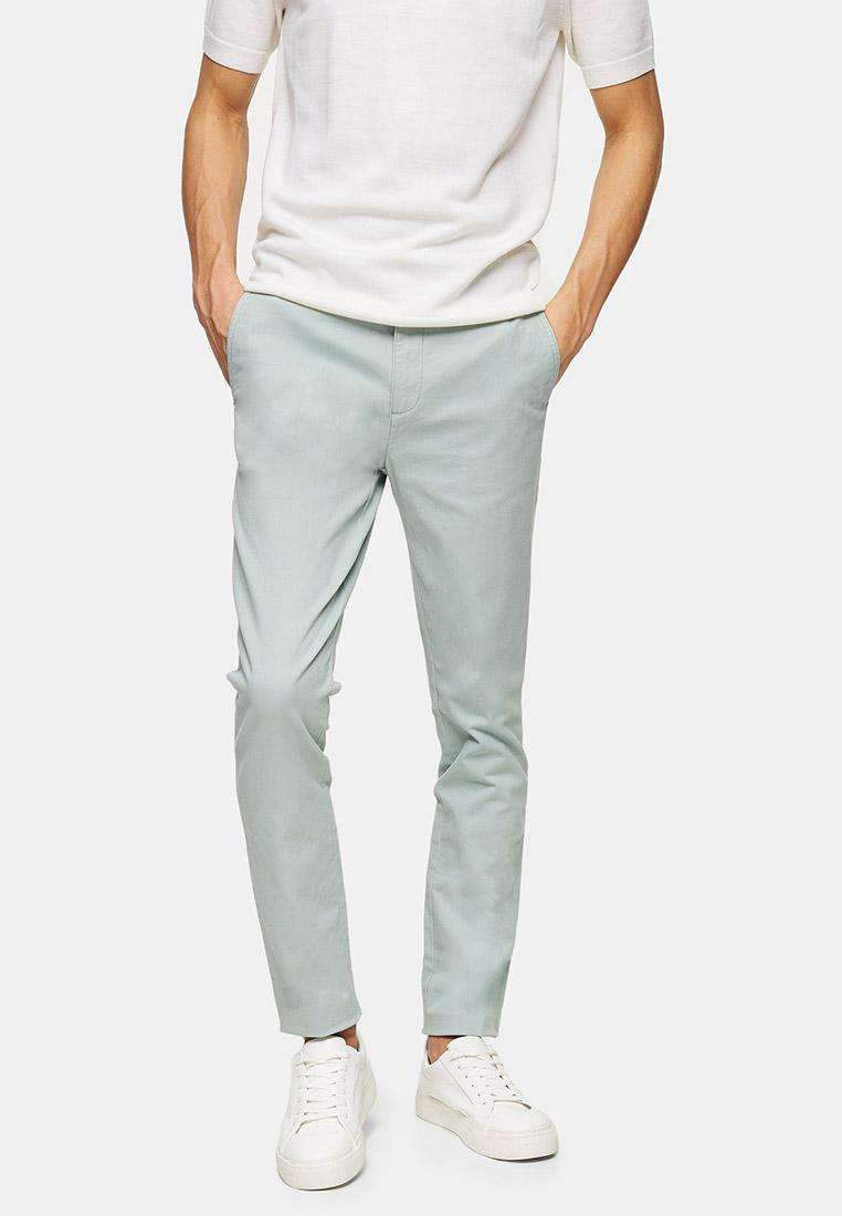 Мужские прямые брюки Topman (Топмэн) 68D19TGRN
