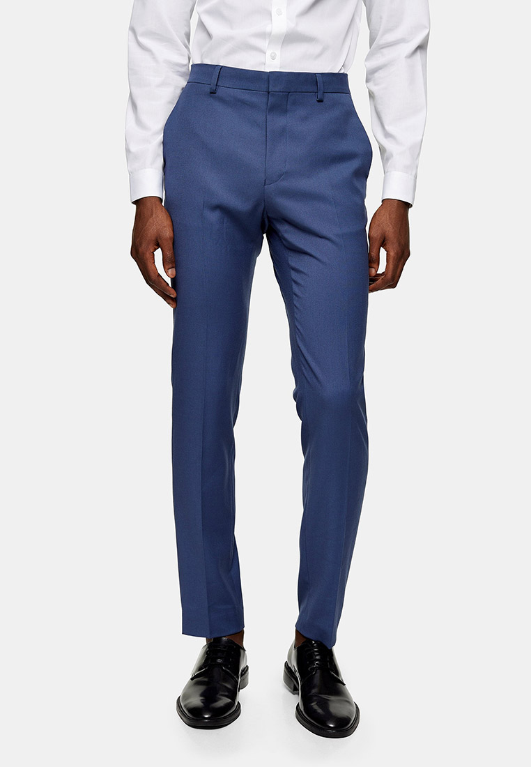 Мужские классические брюки Topman (Топмэн) 87T00UBLE