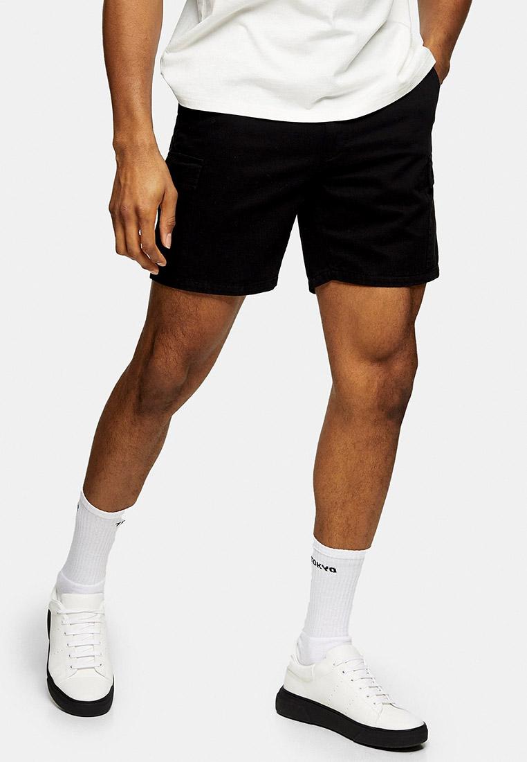 Мужские повседневные шорты Topman (Топмэн) 33U16SBLK
