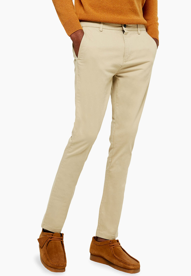Мужские повседневные брюки Topman (Топмэн) 68D13TSTN
