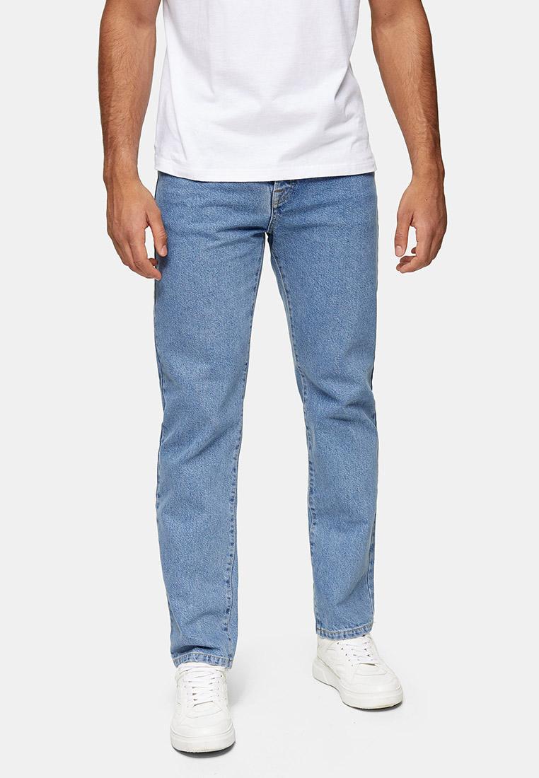 Мужские прямые джинсы Topman (Топмэн) 69H60TGRY