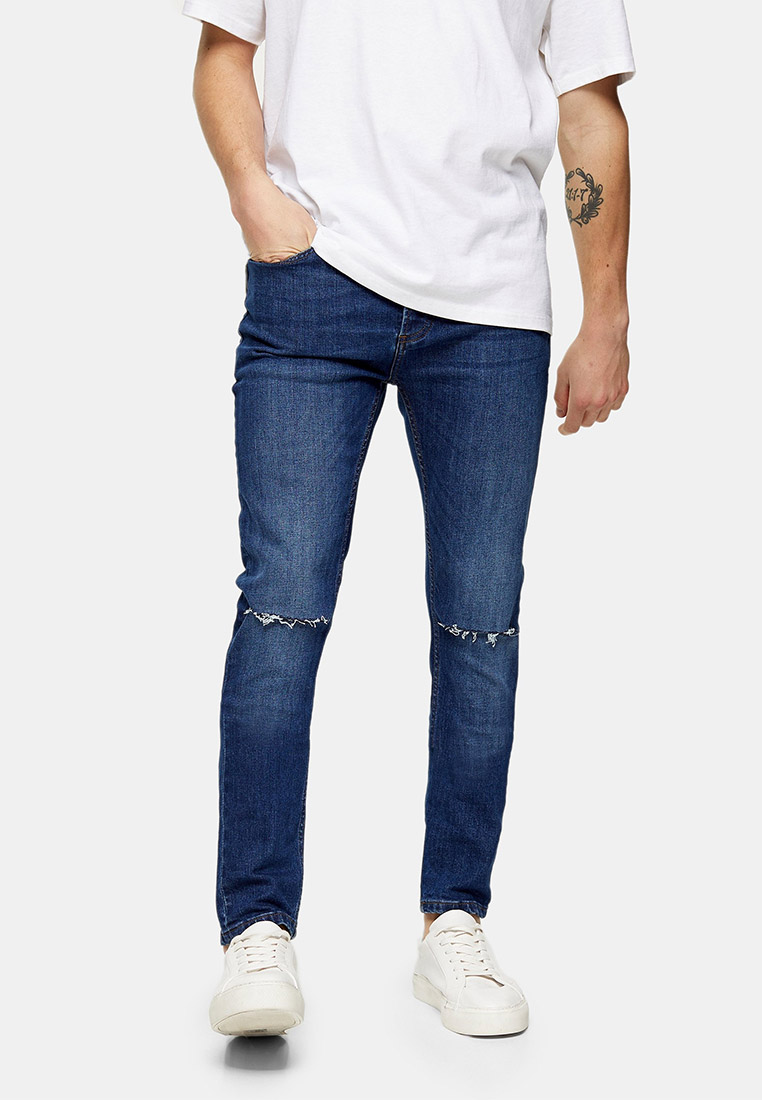 Зауженные джинсы Topman (Топмэн) 69A25TMST
