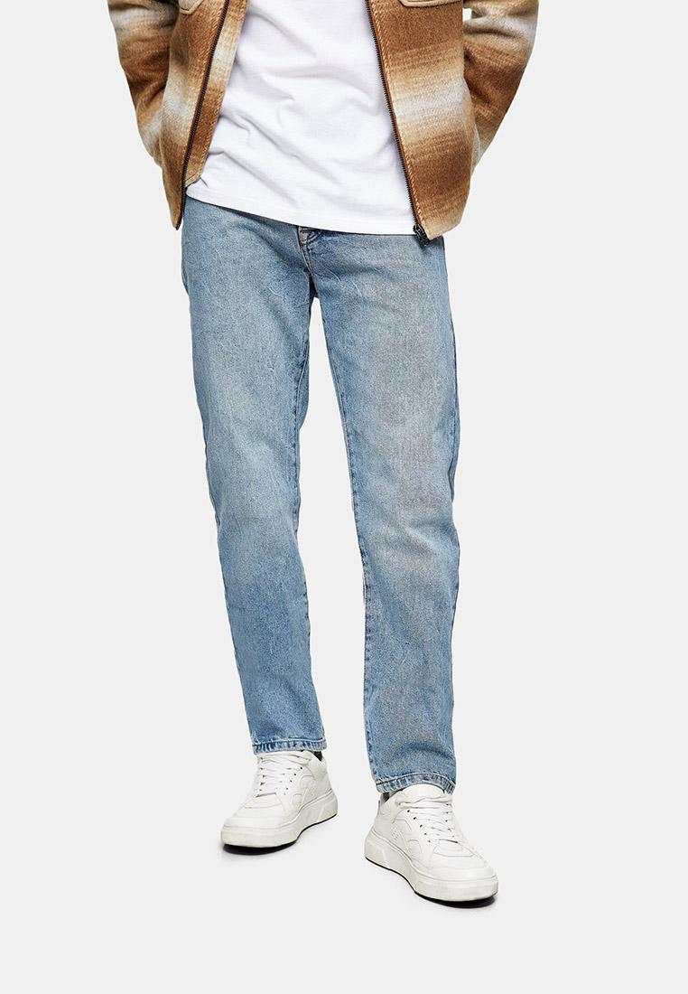 Мужские прямые джинсы Topman (Топмэн) 69H70TLST