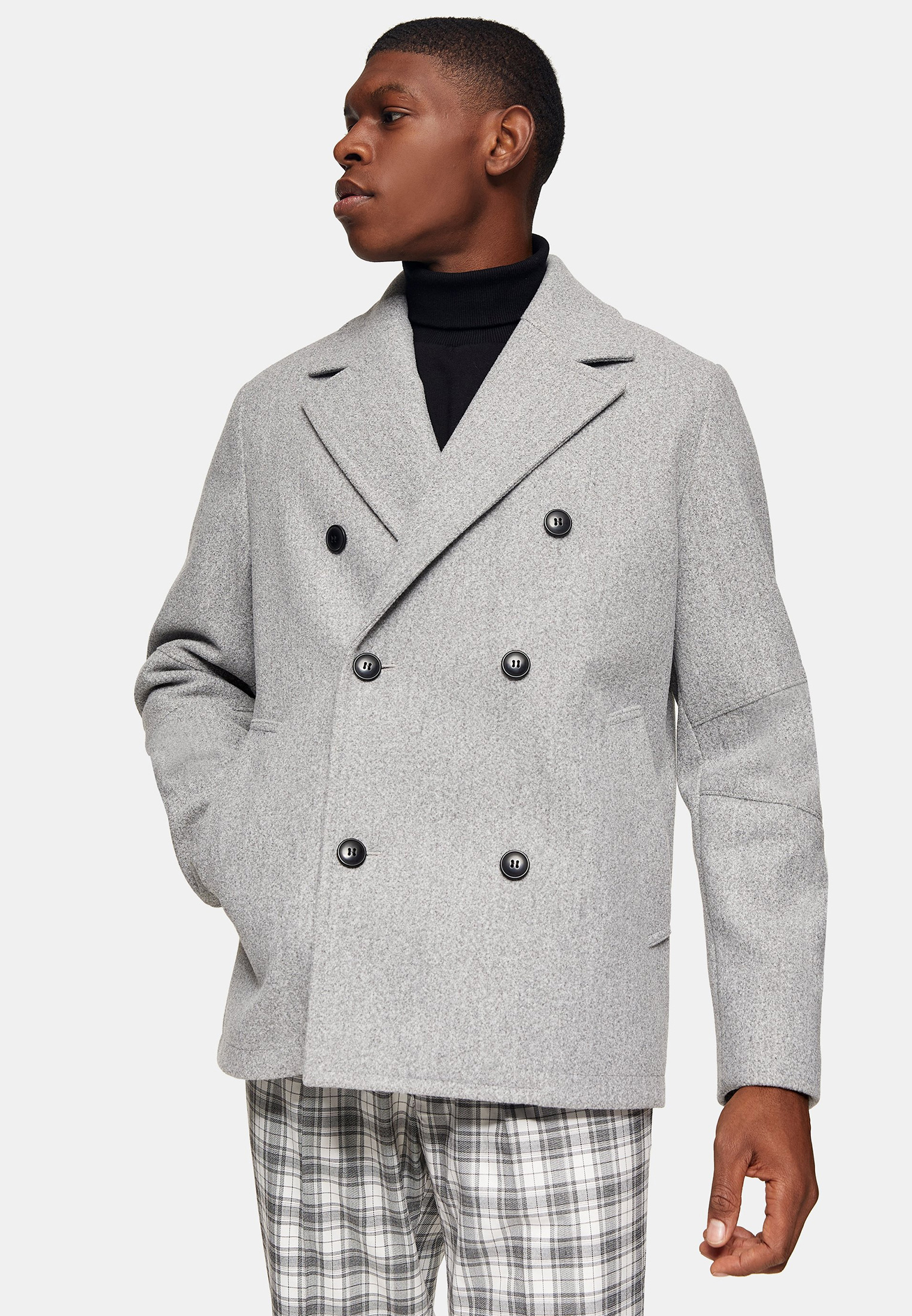 Мужские пальто Topman (Топмэн) 64D11UGRY