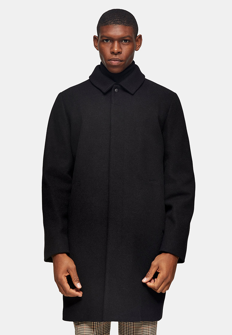 Мужские пальто Topman (Топмэн) 64D08UBLK