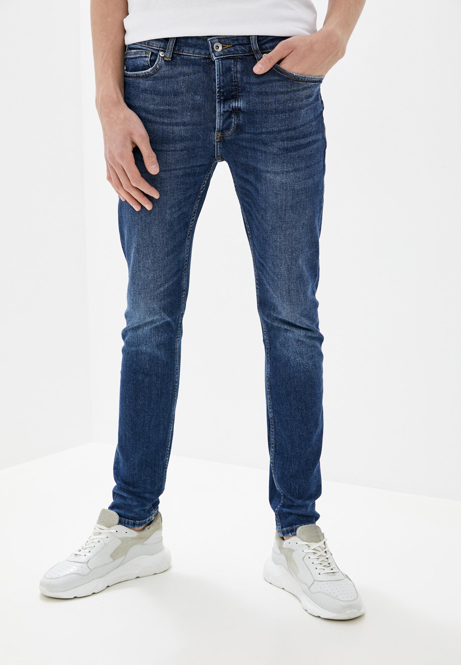 Зауженные джинсы Topman (Топмэн) 69A38TMST