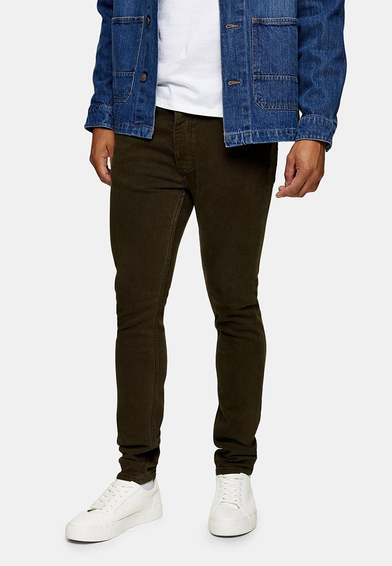 Мужские зауженные брюки Topman (Топмэн) 69A45TKHA