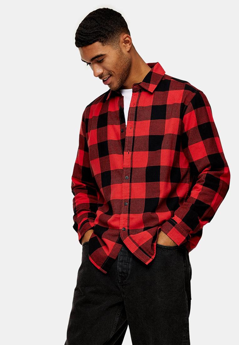 Рубашка с длинным рукавом Topman (Топмэн) 83C02VRED