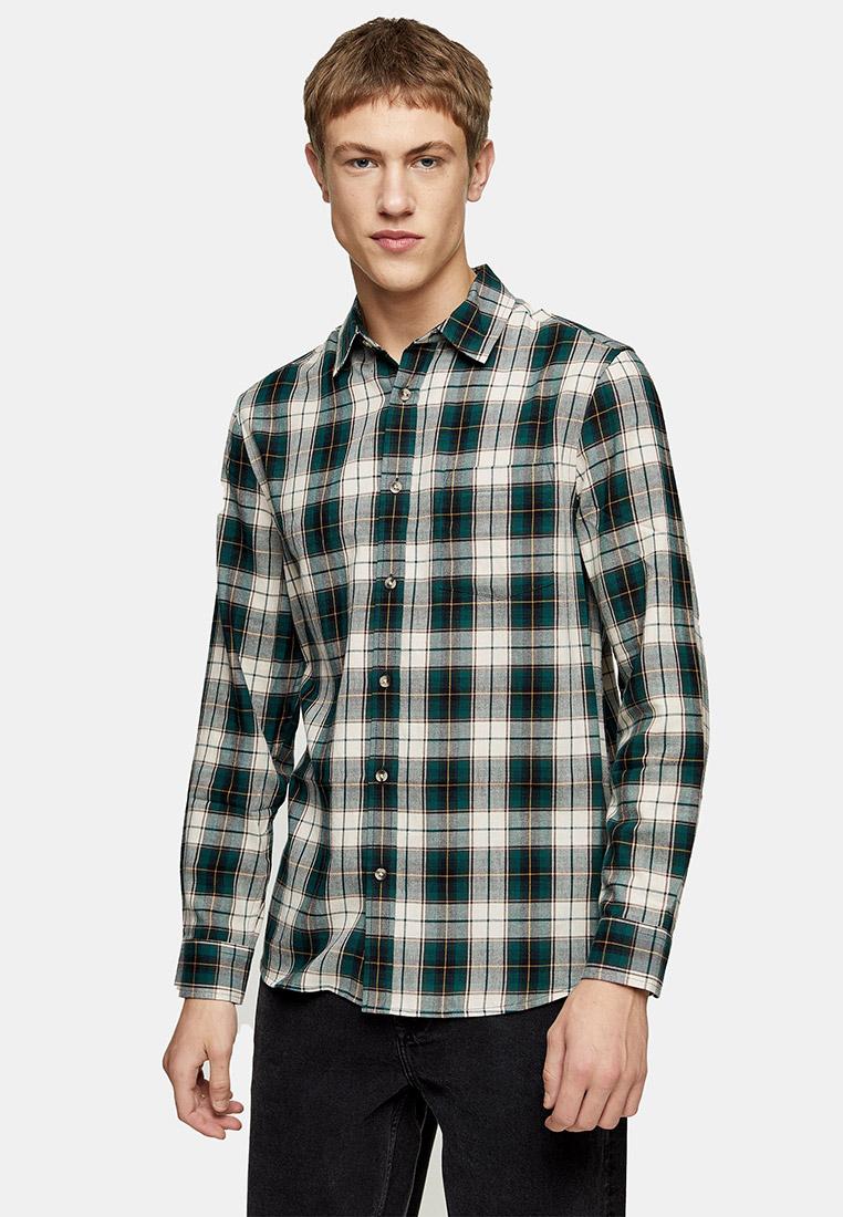 Рубашка с длинным рукавом Topman (Топмэн) 83C29VGRN