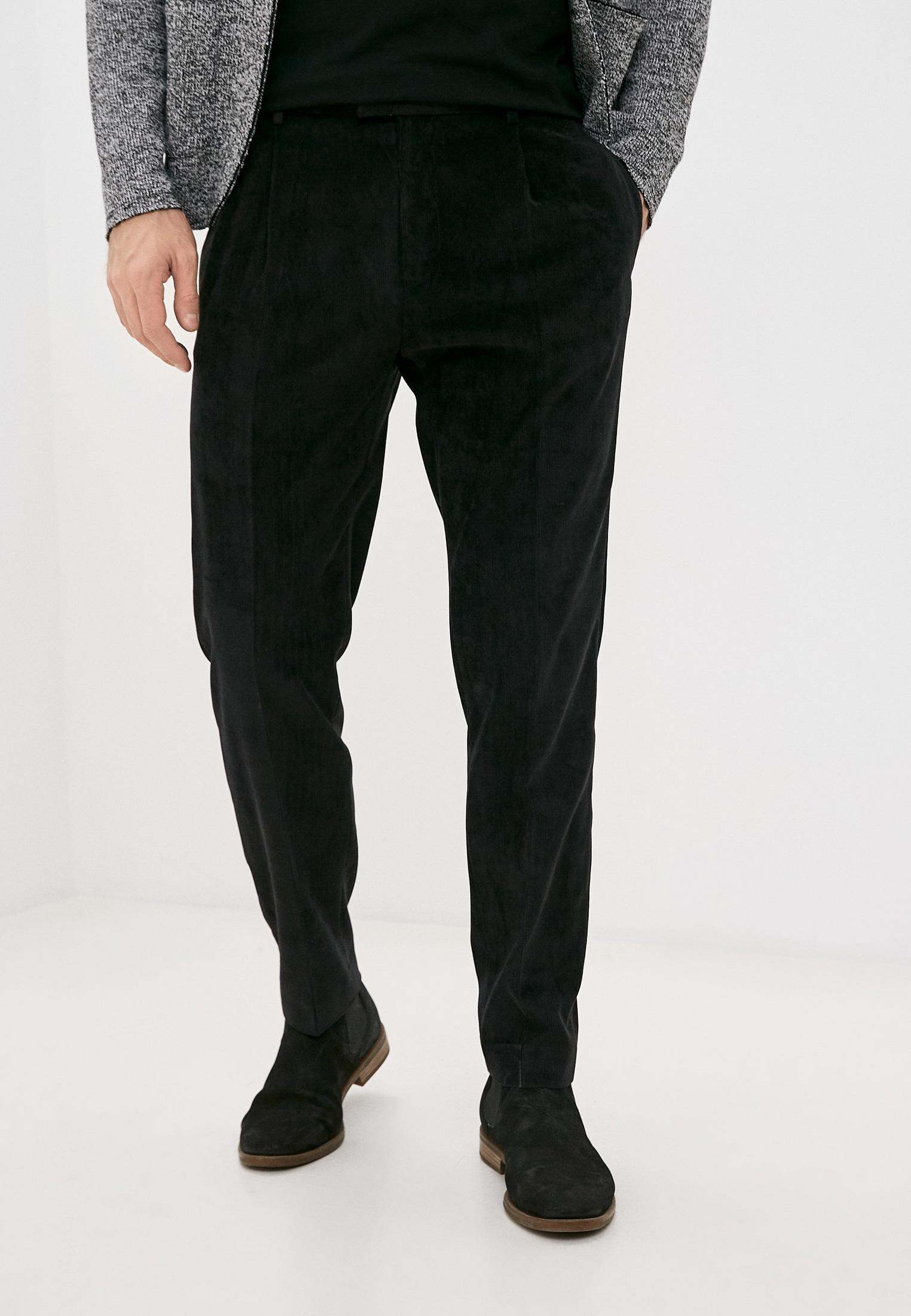 Мужские повседневные брюки Topman (Топмэн) 68N57TBLK
