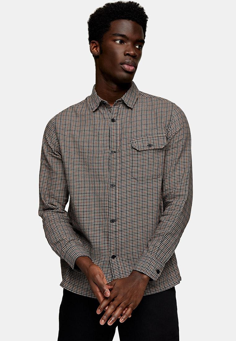 Рубашка с длинным рукавом Topman (Топмэн) 83C27VBLE