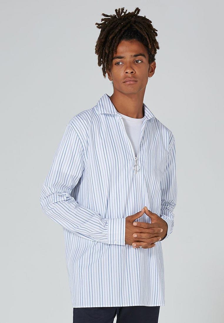 Рубашка с длинным рукавом Topman (Топмэн) 84C04OWHT: изображение 1