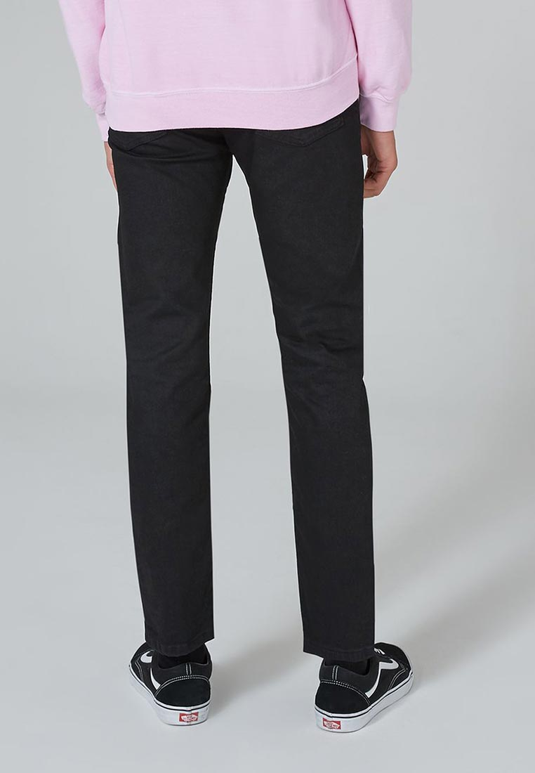 Зауженные джинсы Topman (Топмэн) 69J06PBLK: изображение 2