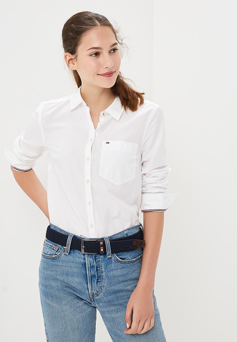 Женские рубашки с длинным рукавом Tommy Jeans DW0DW04433