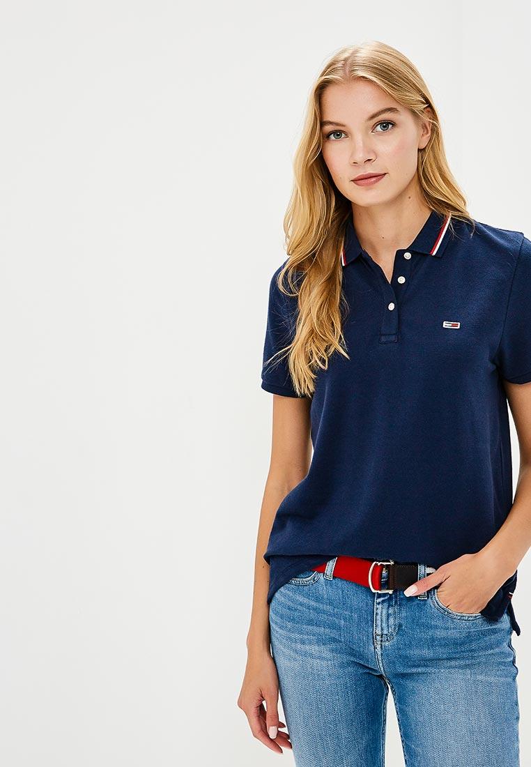 Женские поло Tommy Jeans DW0DW04512