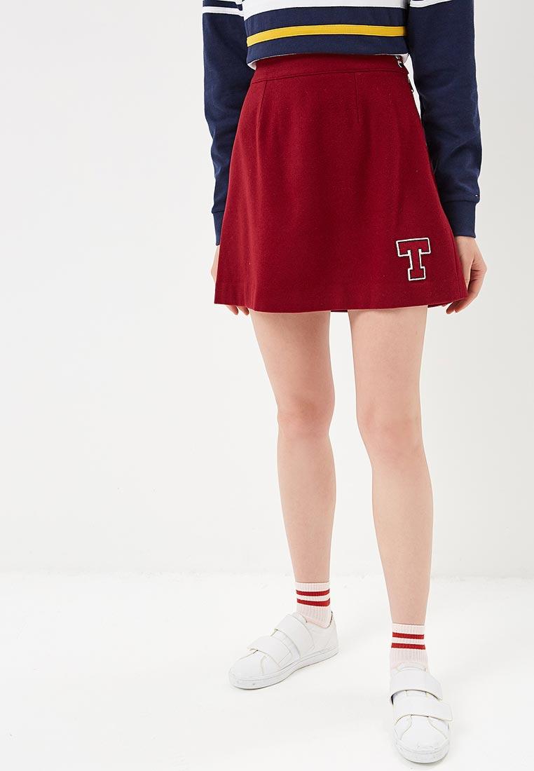 Широкая юбка Tommy Jeans DW0DW05224
