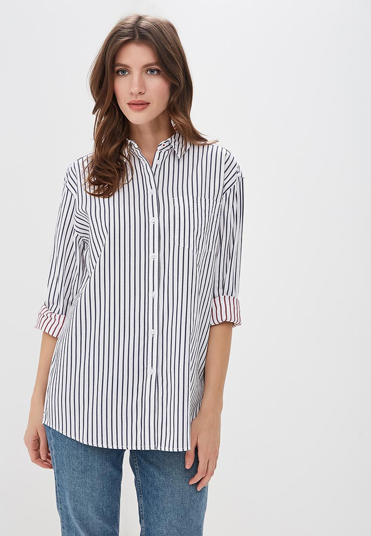 Женские рубашки с длинным рукавом Tommy Jeans DW0DW05251