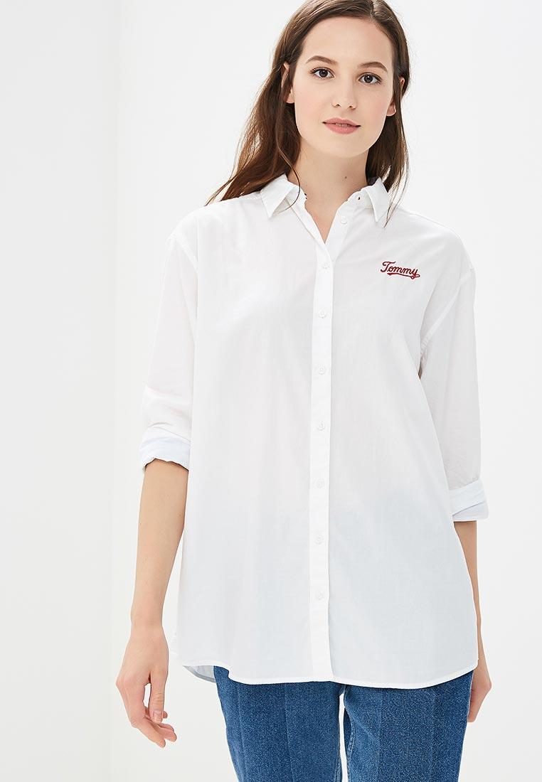 Женские рубашки с длинным рукавом Tommy Jeans DW0DW05260