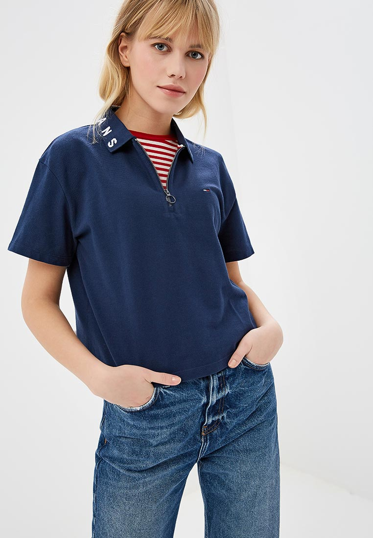 Женские поло Tommy Jeans DW0DW05581