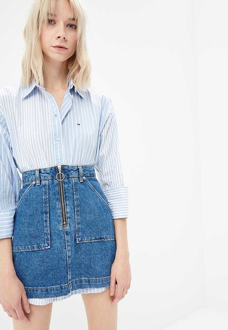 Женские рубашки с длинным рукавом Tommy Jeans DW0DW05787