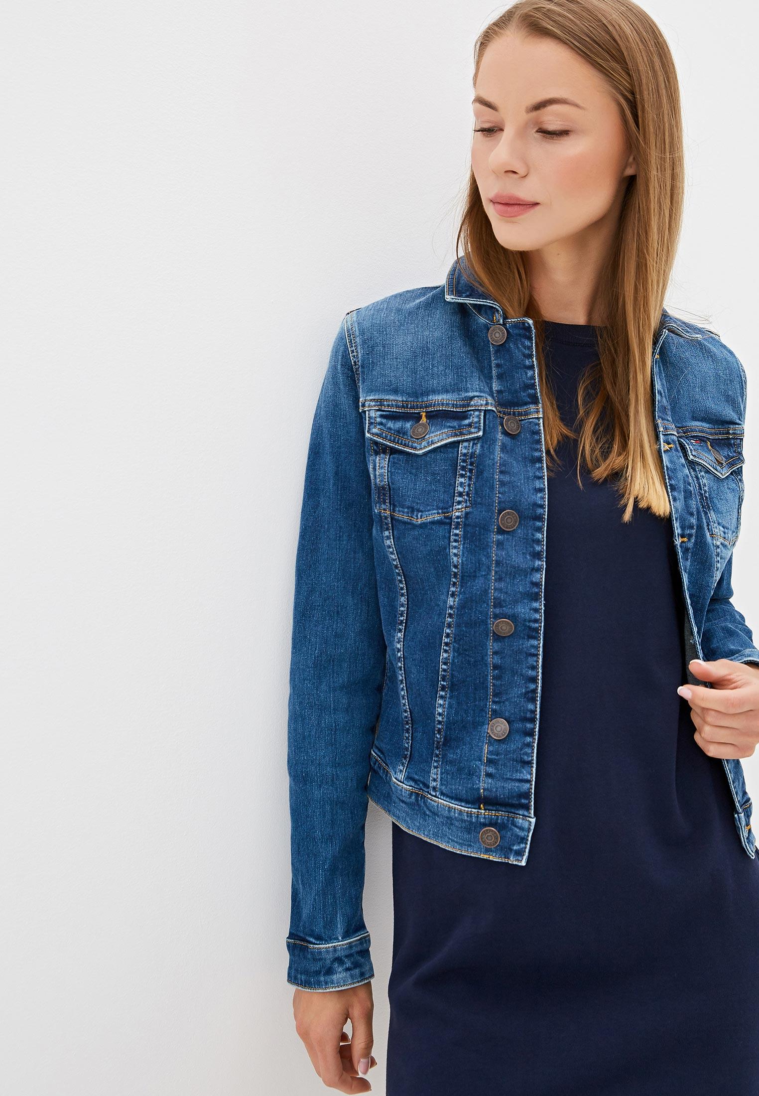 Джинсовая куртка Tommy Jeans DW0DW06588