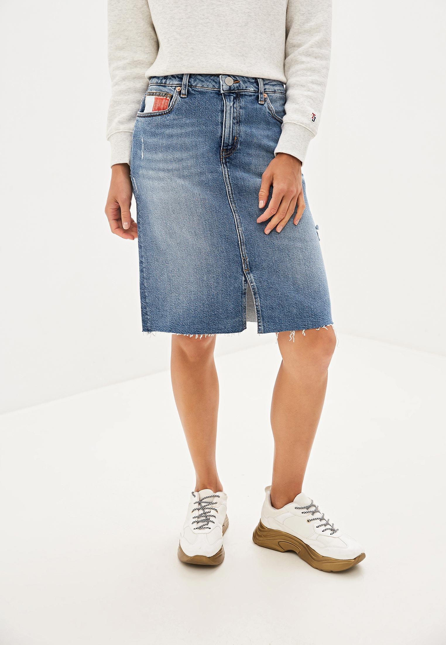 Джинсовая юбка Tommy Jeans DW0DW07321