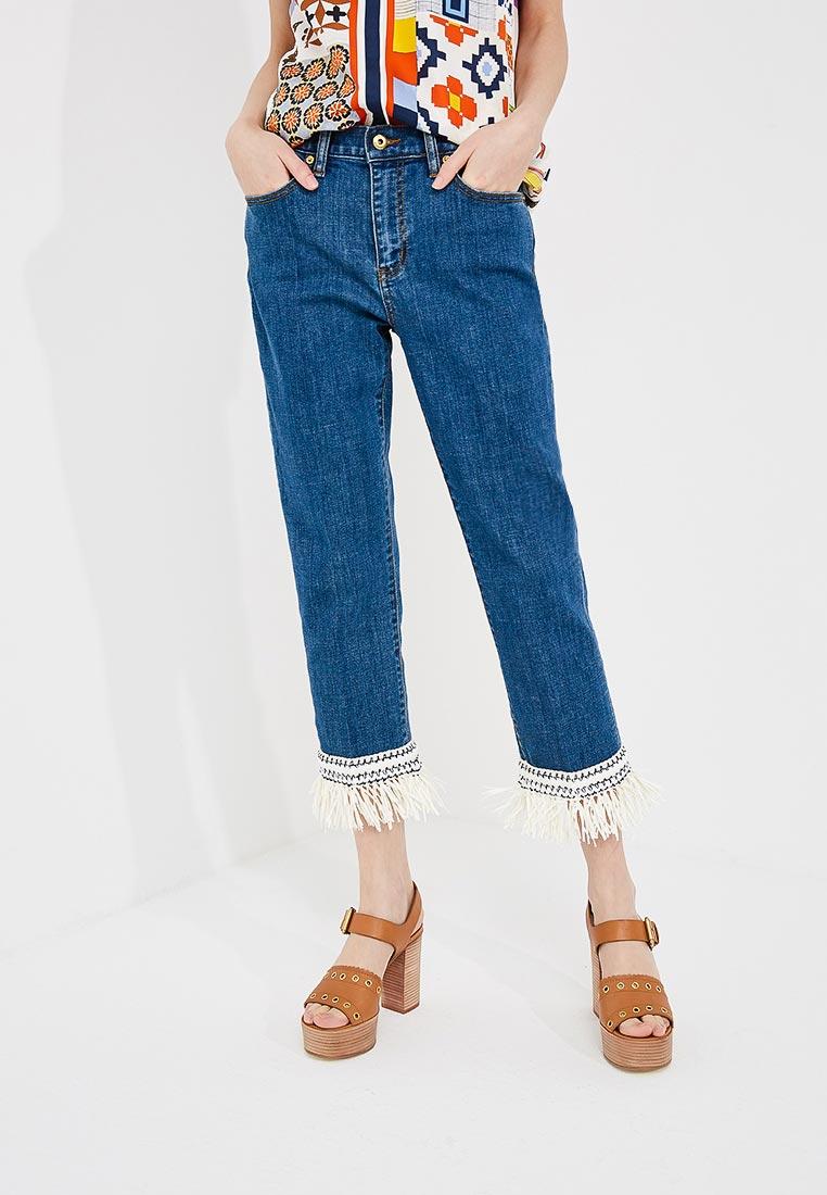 Зауженные джинсы Tory Burch 46325: изображение 1