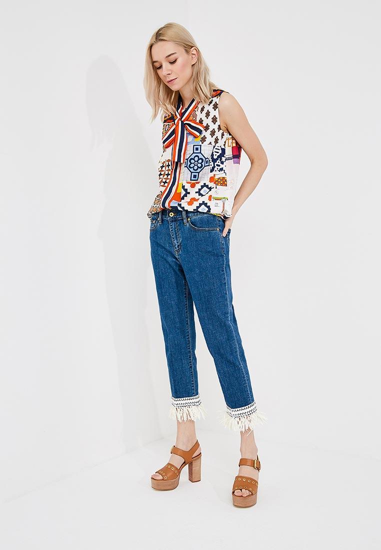 Зауженные джинсы Tory Burch 46325: изображение 2
