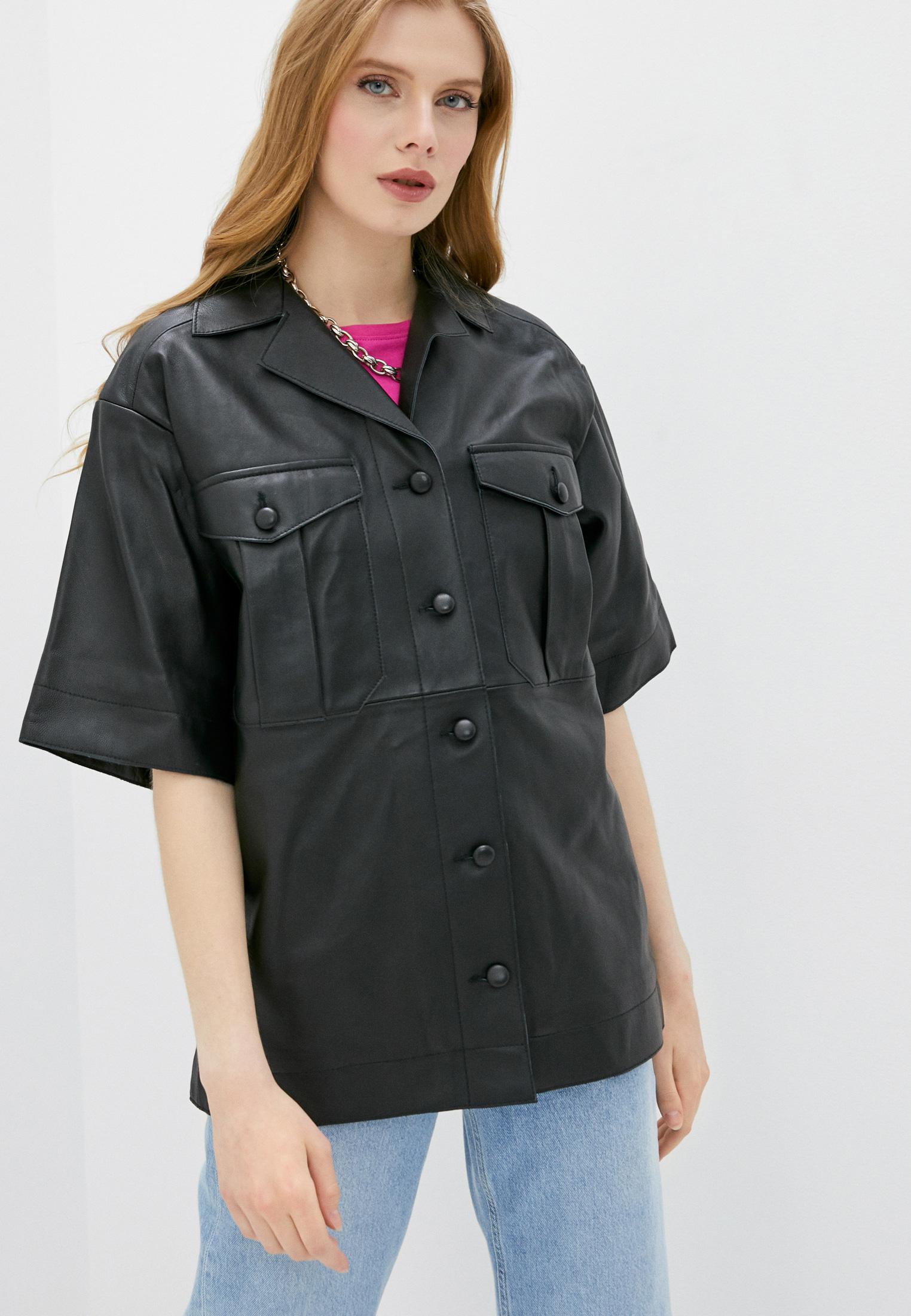 Рубашка с коротким рукавом Topshop Boutique 25L39RBLK
